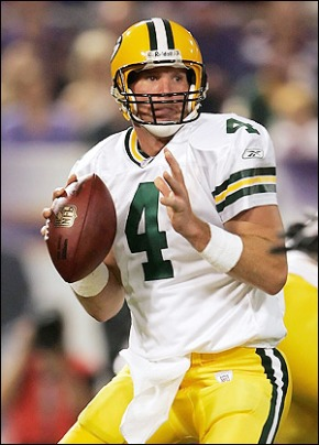 Brett Favre at his best
